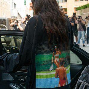 🔥 SALE! Kanye West Saint Pablo Kim K Tennis Shirt